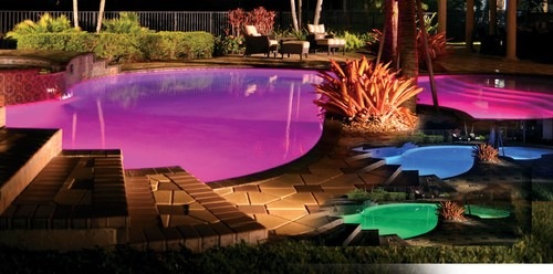 Add Some Lights to Your Pool